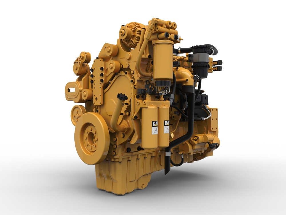Caterpillar expands industrial engine range with a 6 cylinder, 9.3 litre engine