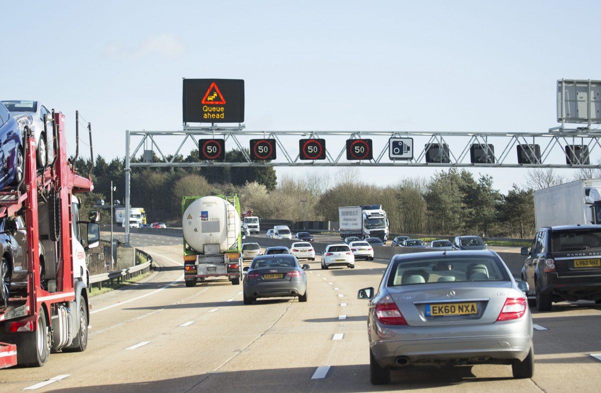 Completed smart motorway