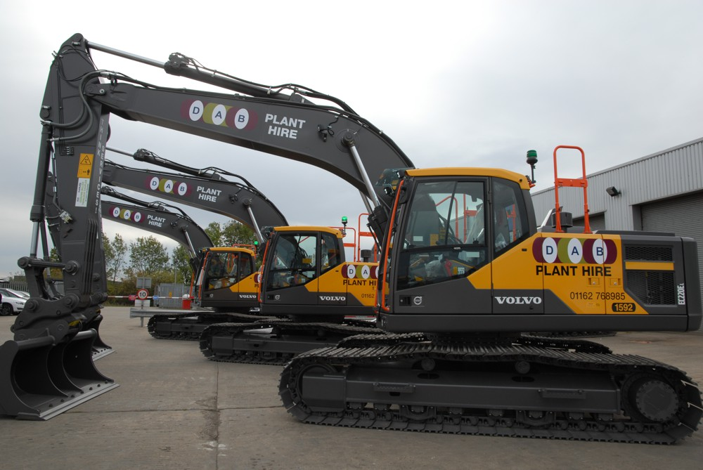 DAB Civil Engineering Contractors goes for quality with 3 Volvo EC220E Excavators