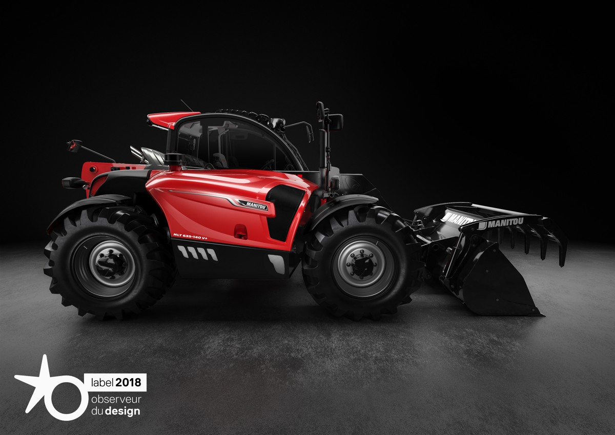 Manitou scoops the Étoile du Design Made in France prize