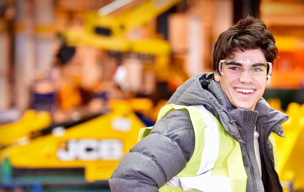 Williams Racing F1 driver Lance Stroll shares his secrets at the JCB Academy