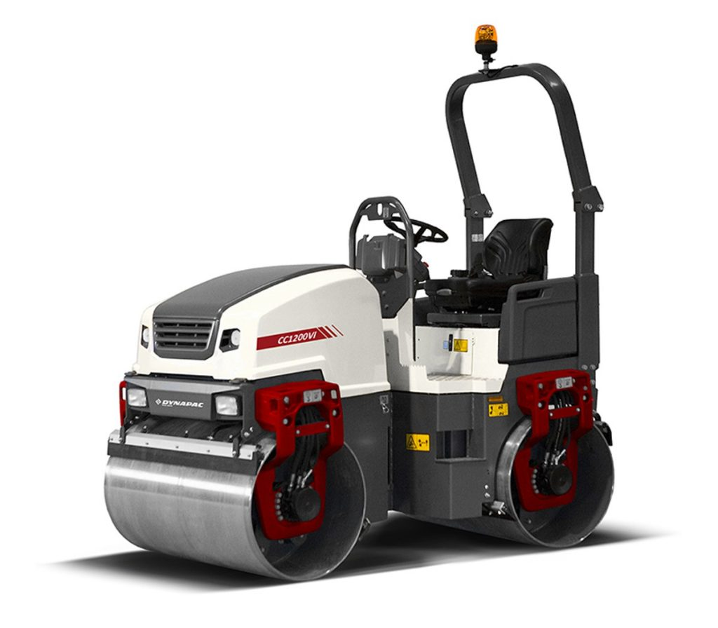 Dynapac introduces 6th generation of small asphalt rollers