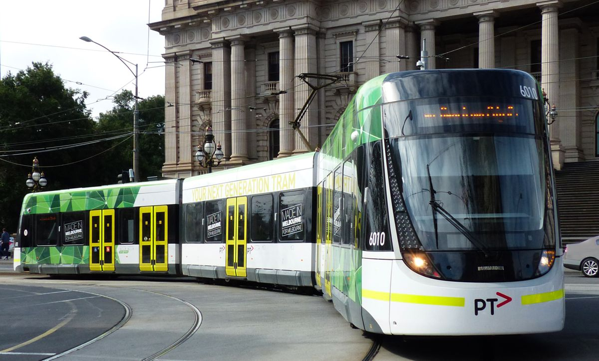 E Class Melbourne Tram - Photo by Bernard Spragg