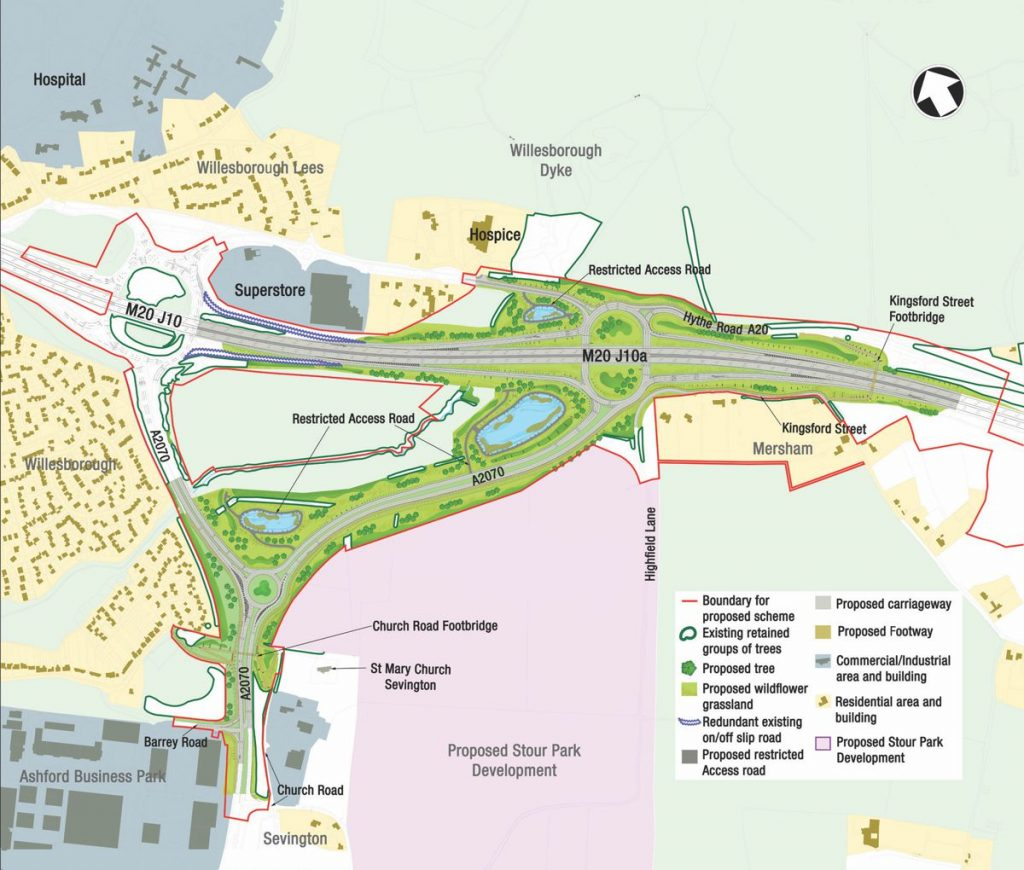 Highways England gets green light for new Kent M20 motorway junction