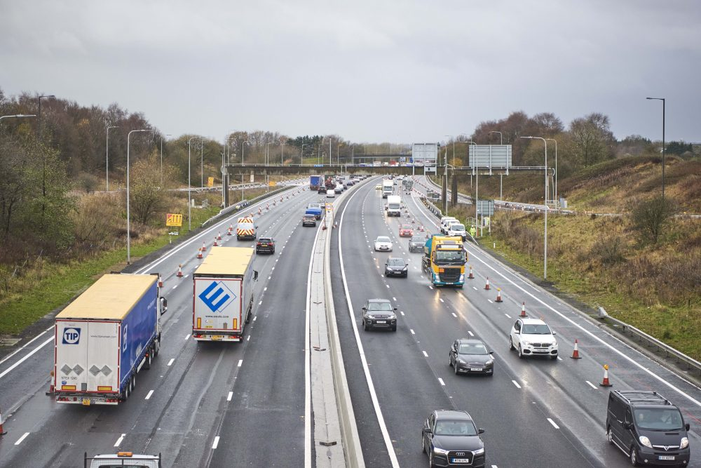 Extra lanes to open before Christmas on Manchester smart motorway