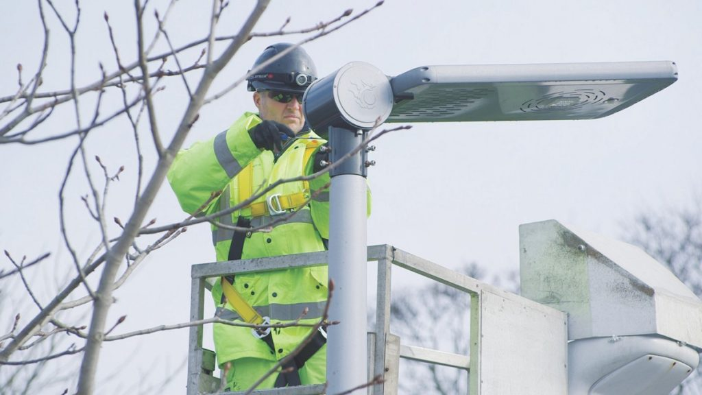 McCann begins work on £25m LED street lighting for Calderdale, Yorkshire
