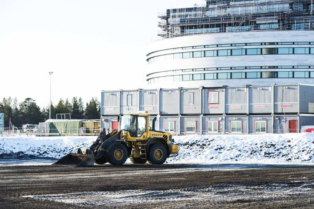 Volvo CE continues the Megaproject story - Moving the city of Kiruna