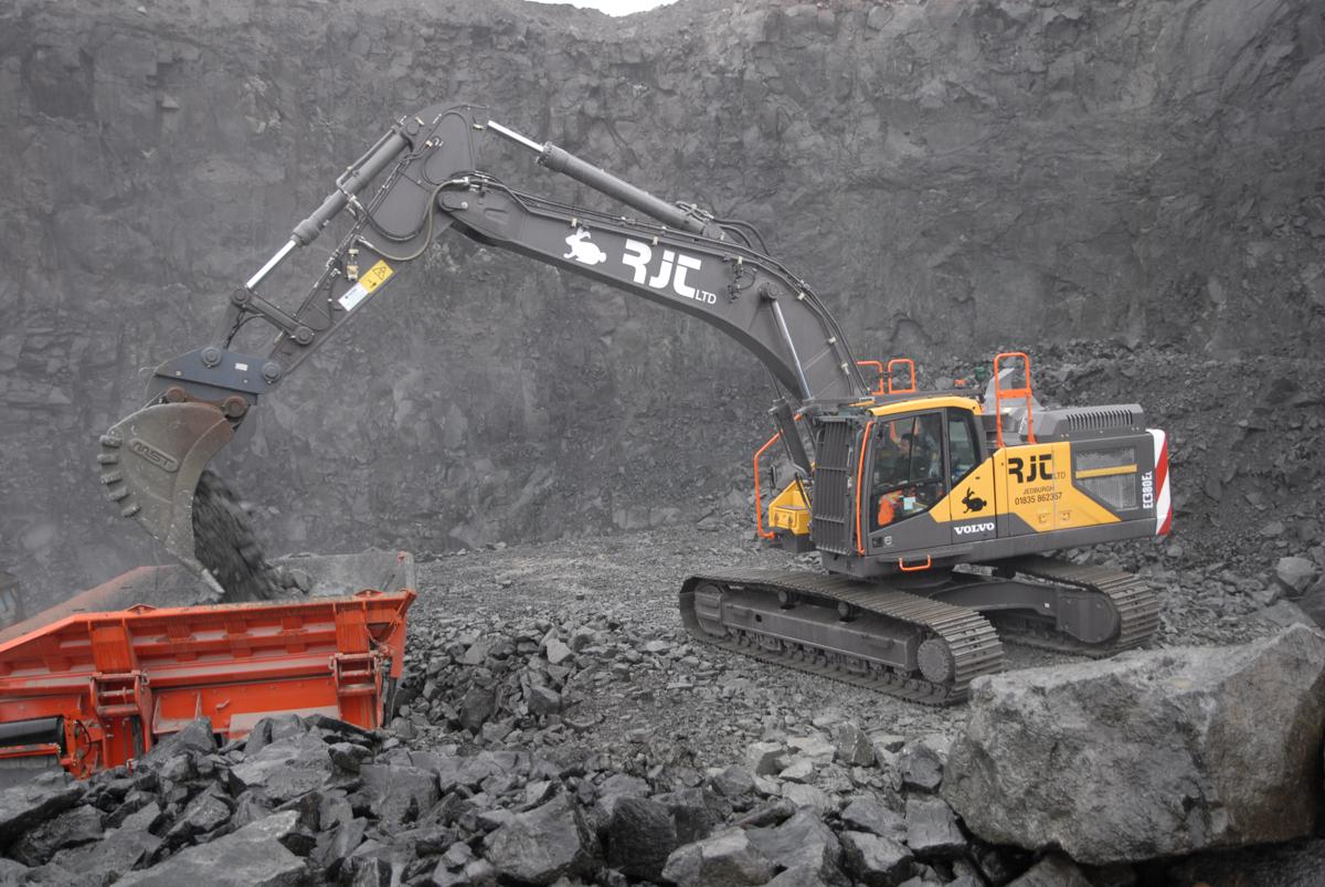 RJT Excavations crushes it with Volvo in Scotland