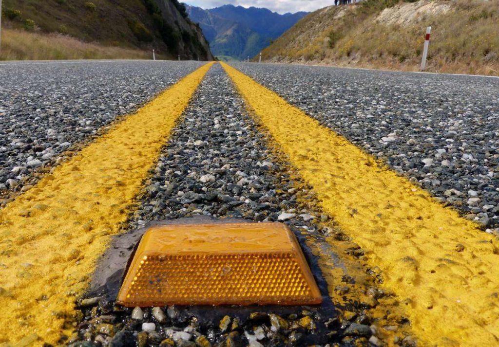 Road Marker - Photo by Bernard Spragg