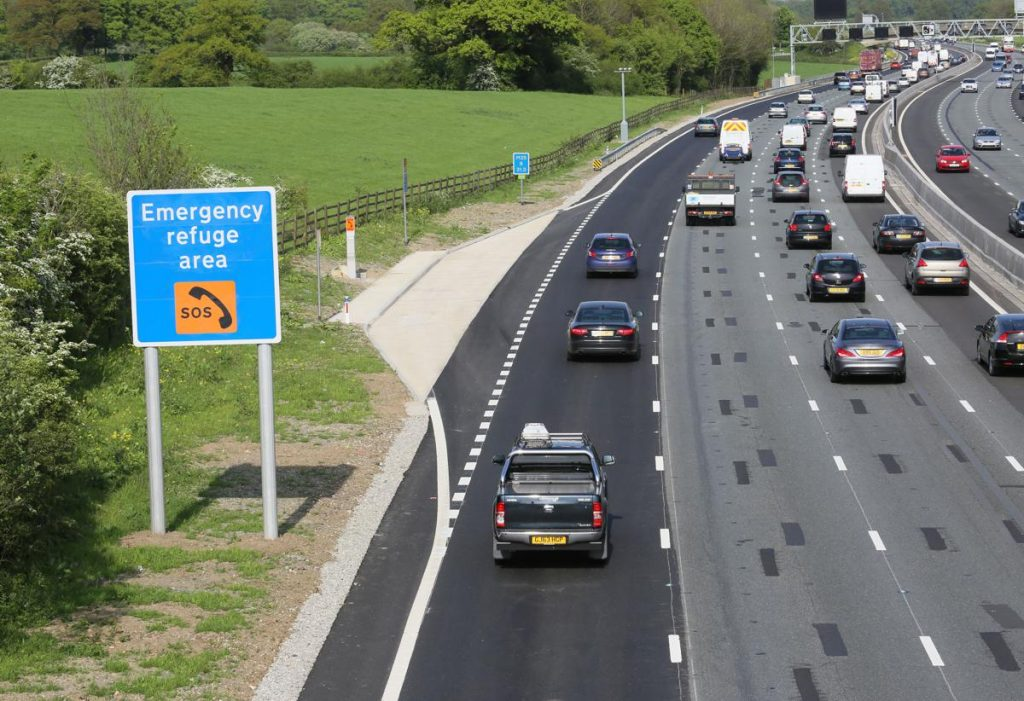 Smart Motorway- Photo by Highways England