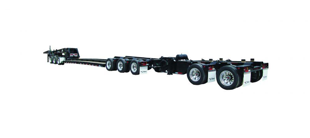 Talbert Manufacturing releases versatile 60 tonne spread-axle trailer