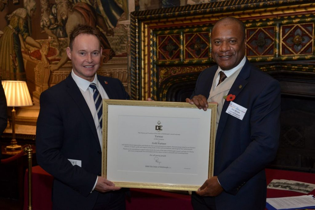 Tarmac partners with the Duke of Edinburgh Awards to develop youth skills