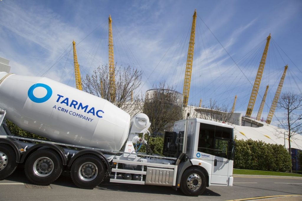 Tarmac paves way for fleet safety through commitment to HGV accreditation