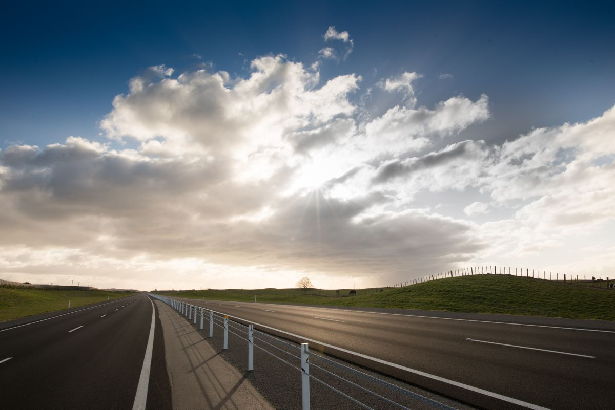 New Zealand's Waikato Expressway gets 110km/h speed limit sections