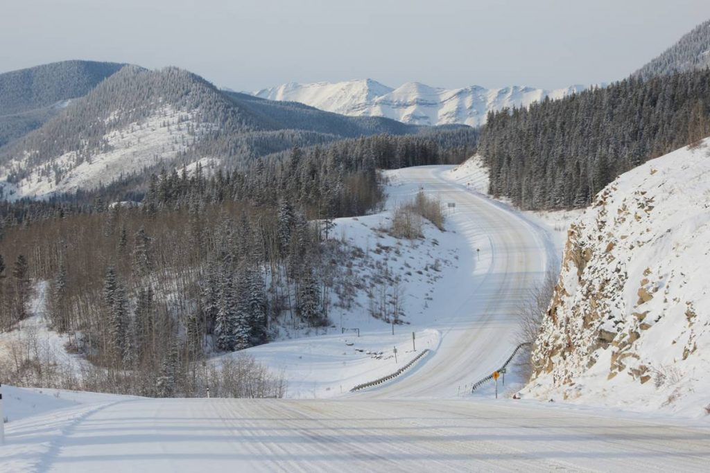 Winter Road - Photo by Dave Bloggs 007