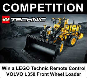 Win a LEGO Technic Volvo L350 Front Wheel Loader