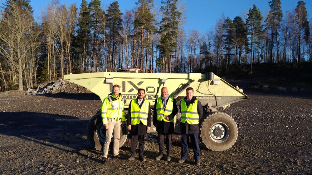CECE Secretary General visits Volvo CE Swedish facilities in Eskilstuna