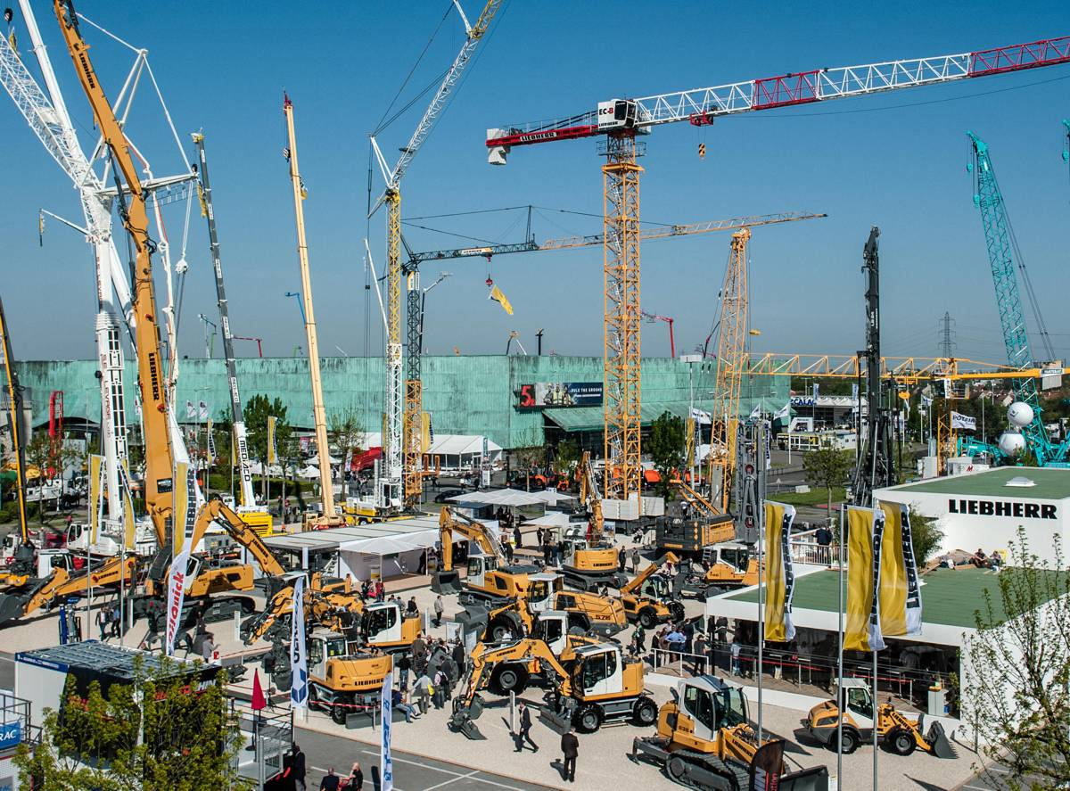 Liebherr to present new construction machines at Intermat 2018