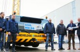 250th Liebherr MK 88 mobile construction crane goes to BKV