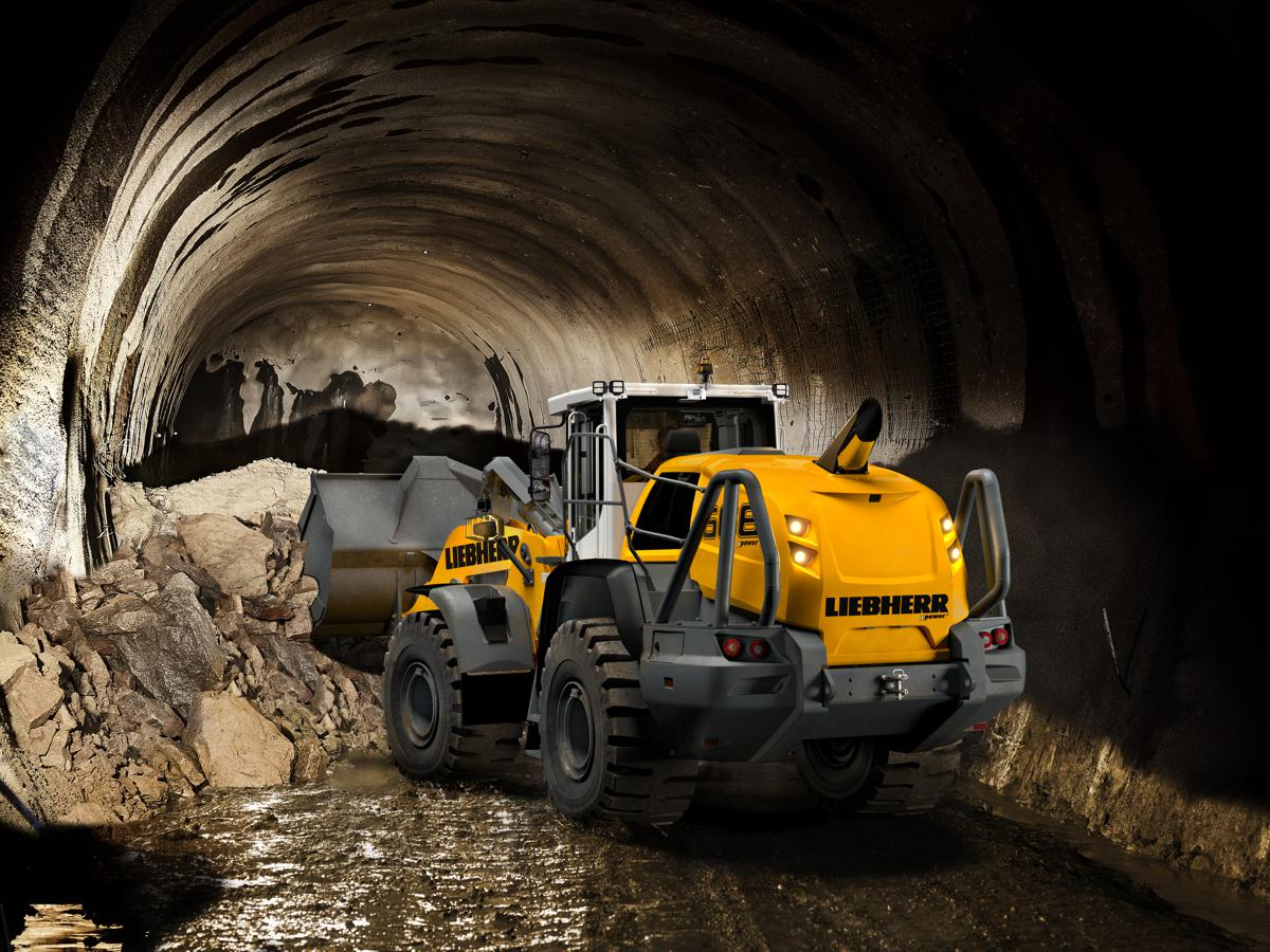 Tunnel construction is one of the most demanding civil engineering applications for construction equipment. Liebherr has a range of machines capable of working productively under the extreme conditions of a tunnel construction site.