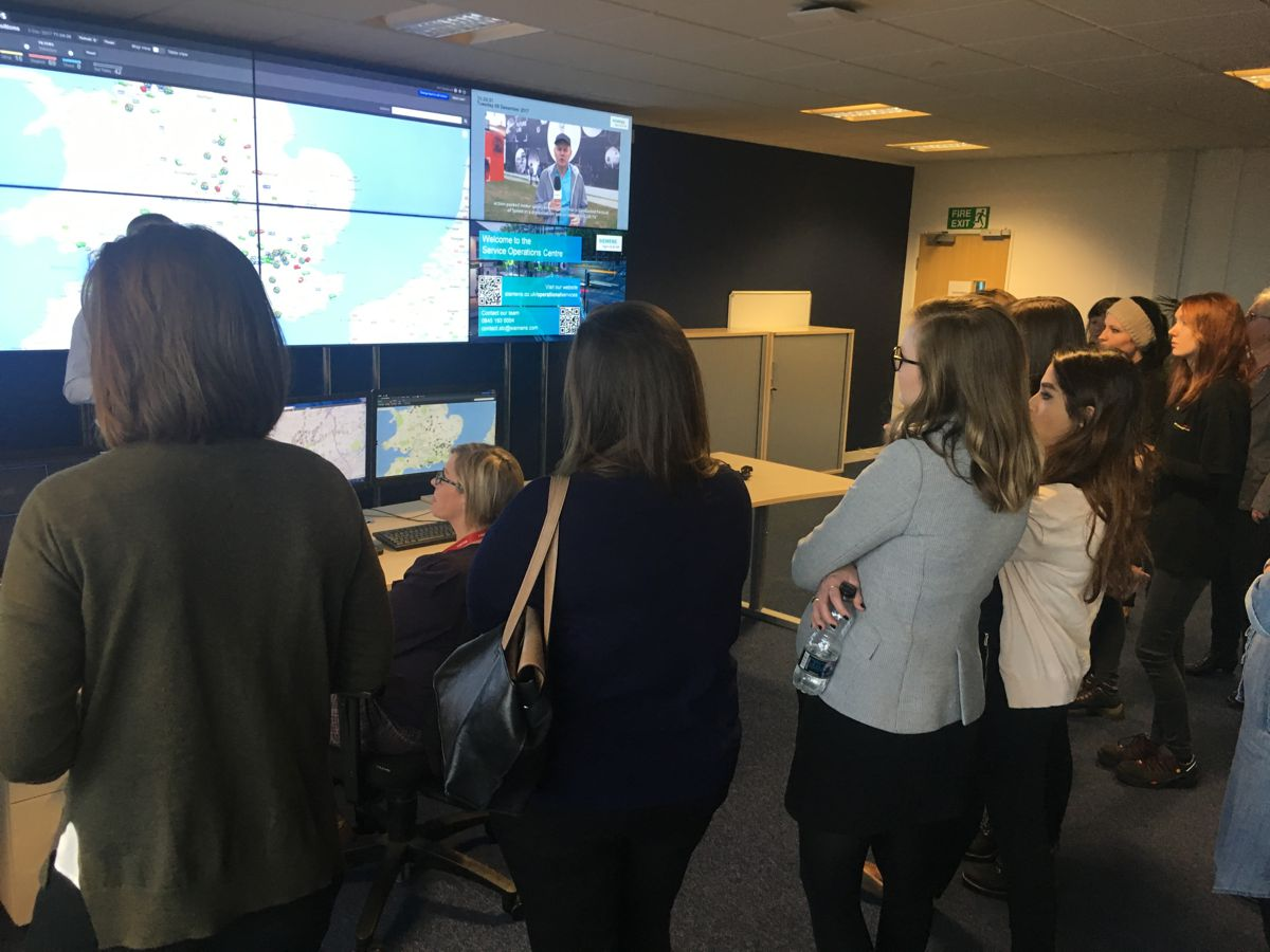 Siemens hosts Women in ITS (UK) in England