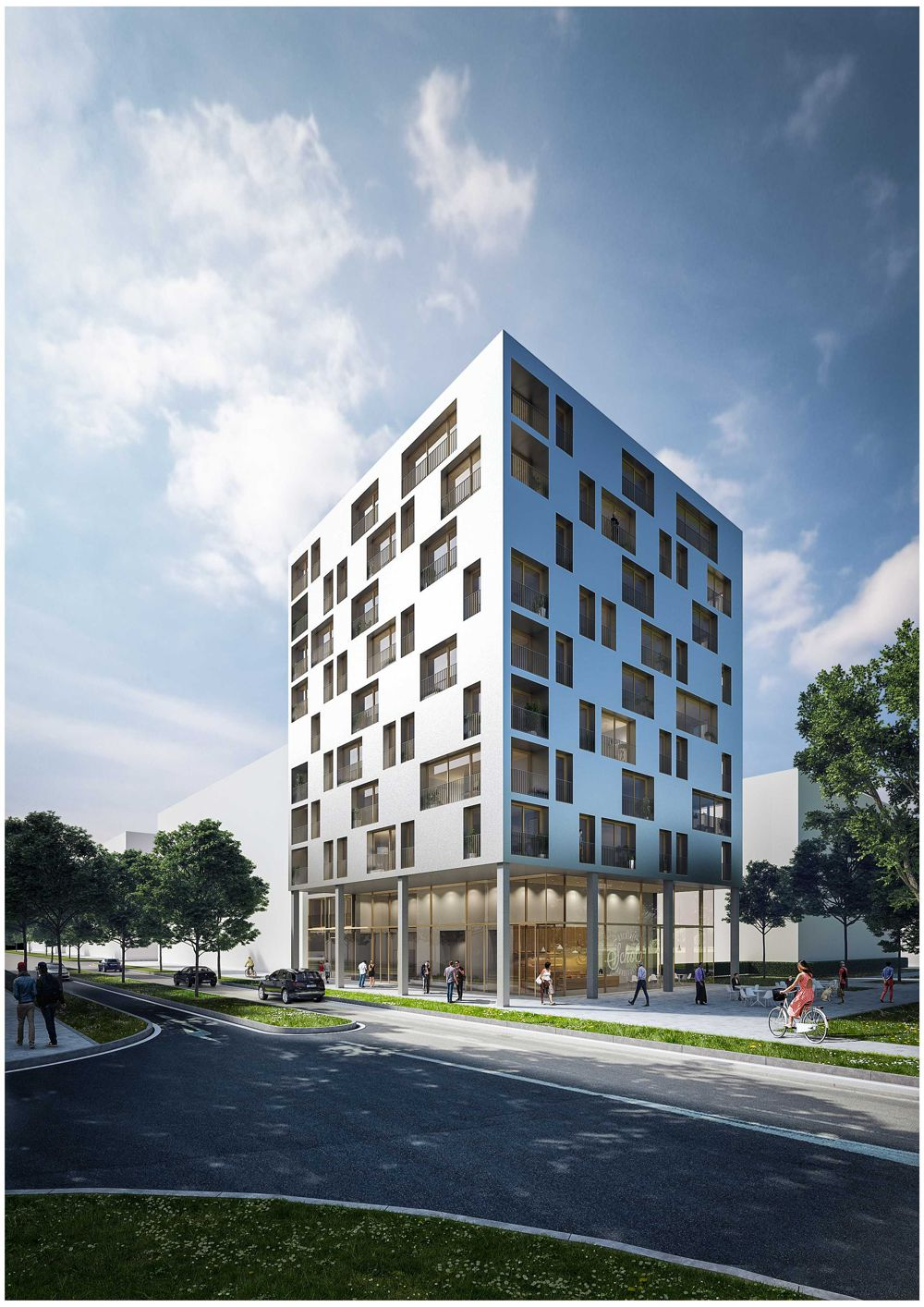 STRABAG subsidiary ZÜBLIN starts construction of Germany's first timber high-rise