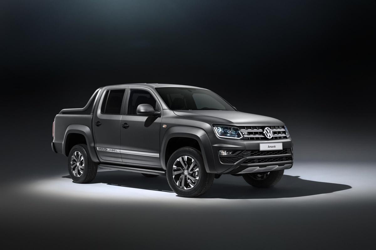Volkswagen releases special edition Dark Label Amarok Pickup Truck