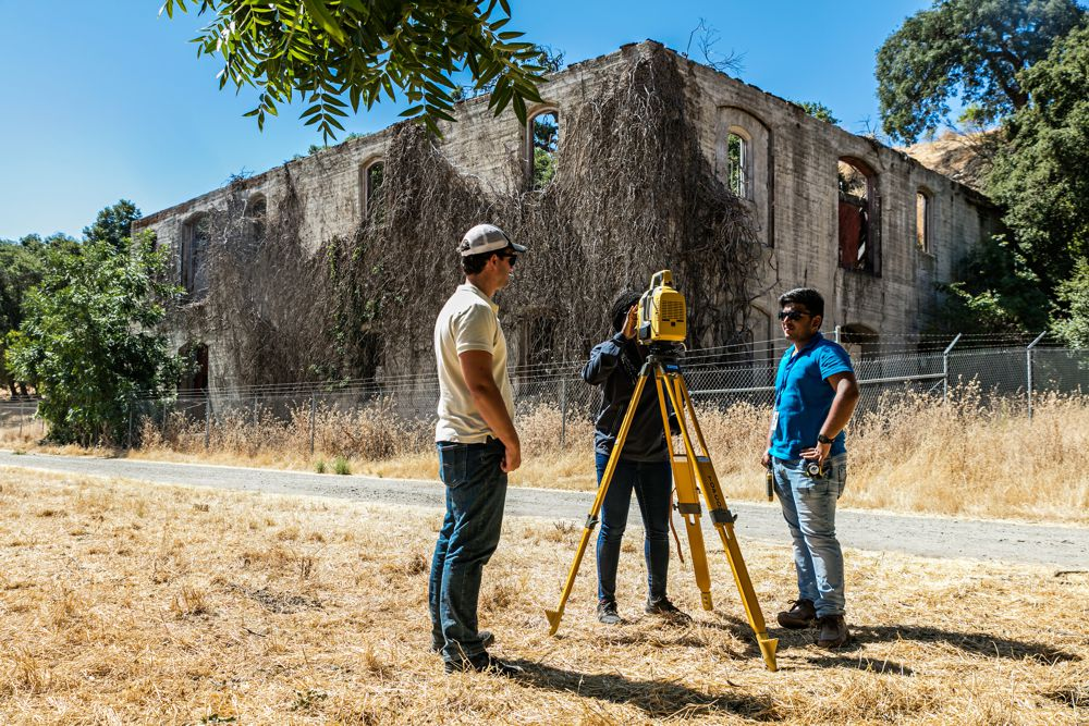 Historic Livermore Olivina winery building lives on in a 3D point cloud