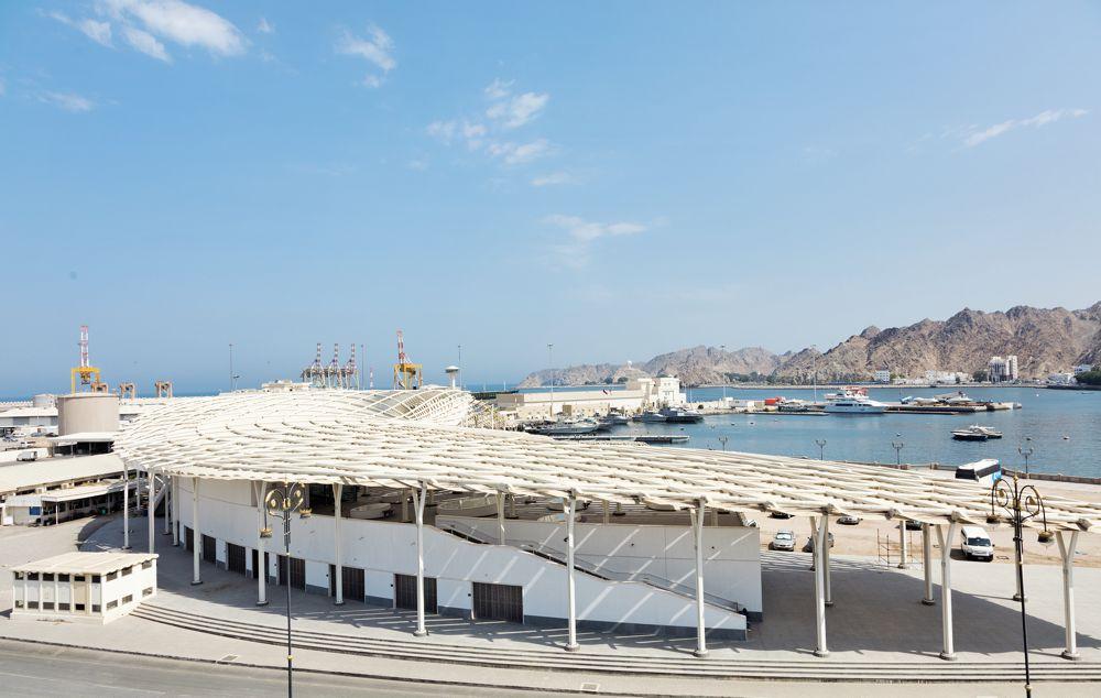 Snøhetta completes Muttrah Fish Market in Oman