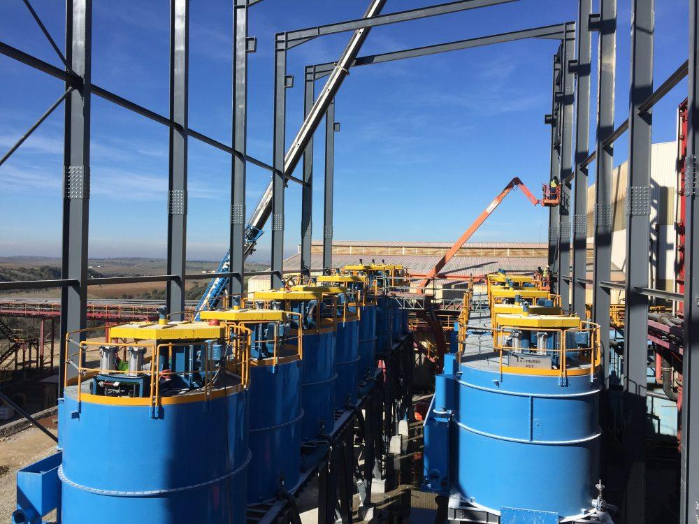 Metso the leading supplier of flotation equipment in Iberian Pyrite Belt