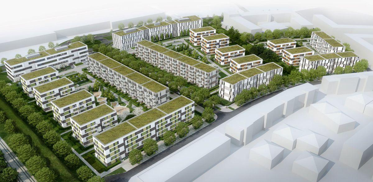 STRABAG subsidiary ZÜBLIN awarded €85m contract for Sonnenhöfe im Sternenviertel