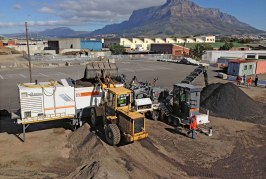 Rehabilitation of Camps Bay Drive in Cape Town relies on Wirtgen Cold Recycling