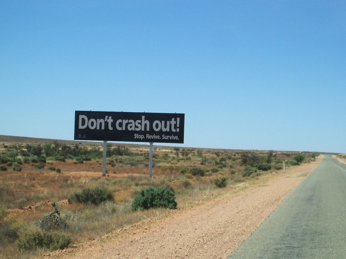 Run off the road crashes are the biggest killer on Australia's country roads