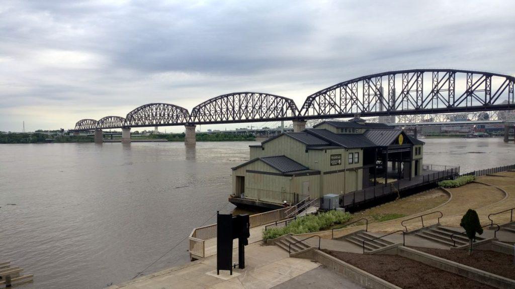 Big Four Bridge Indiana - Photo by Lunchbox Larry