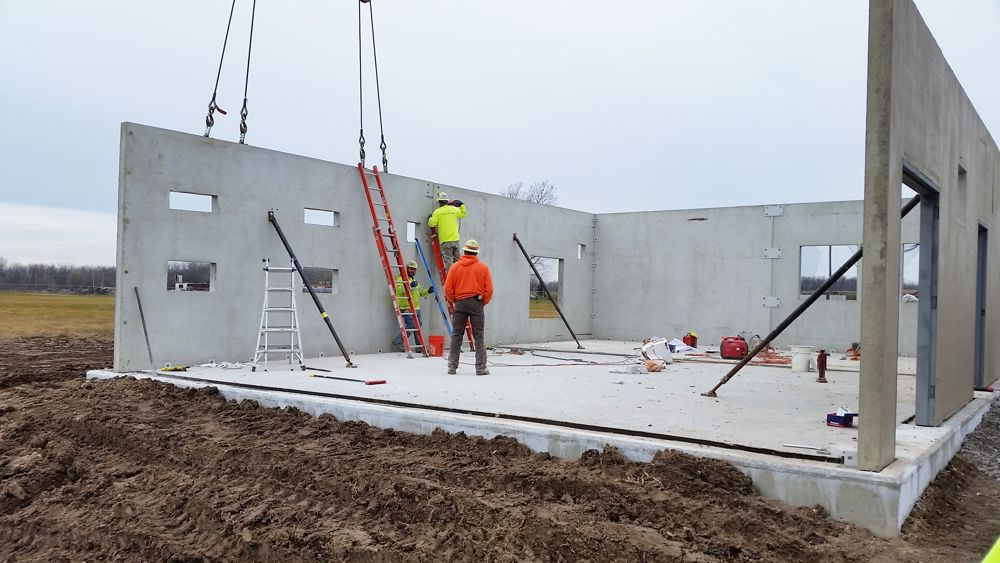 Oldcastle Precast Wall Panel System used at Buffalo International Airport