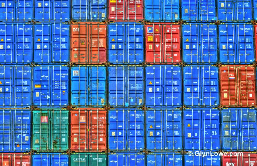 Containers - Photo by GlynLowe