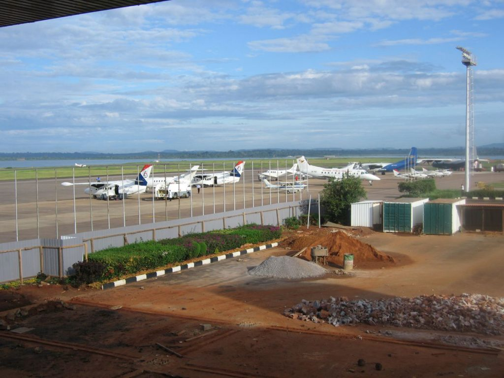 Entebbe International Airport in Uganda - Photo by Khym54