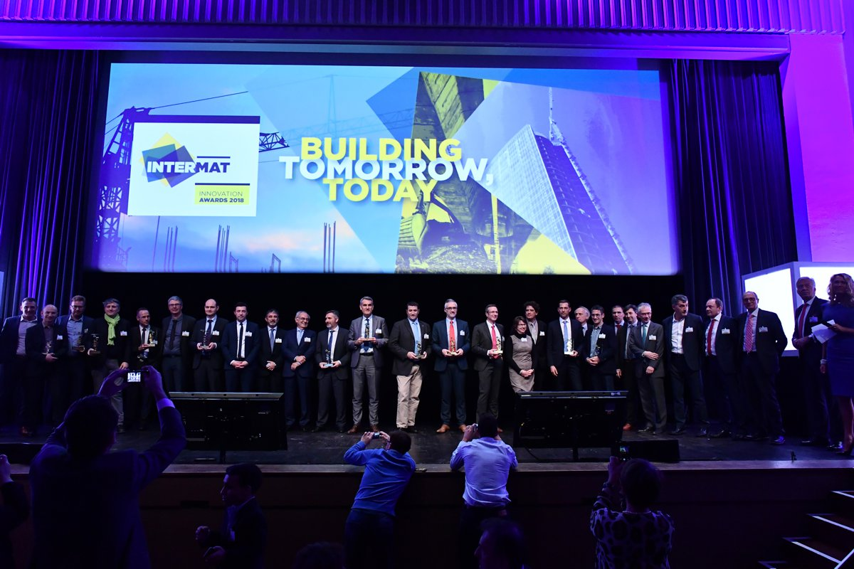 INTERMAT Innovation Awards 2018 at the heart of technological challenges in construction