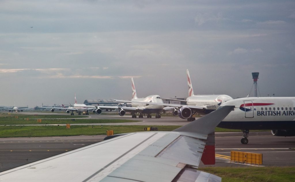 Heathrow Queue - Photo by Phillip Capper