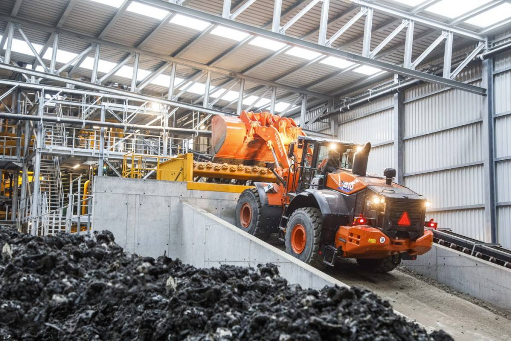 Swiss recycling plant relies on Hitachi workhorse