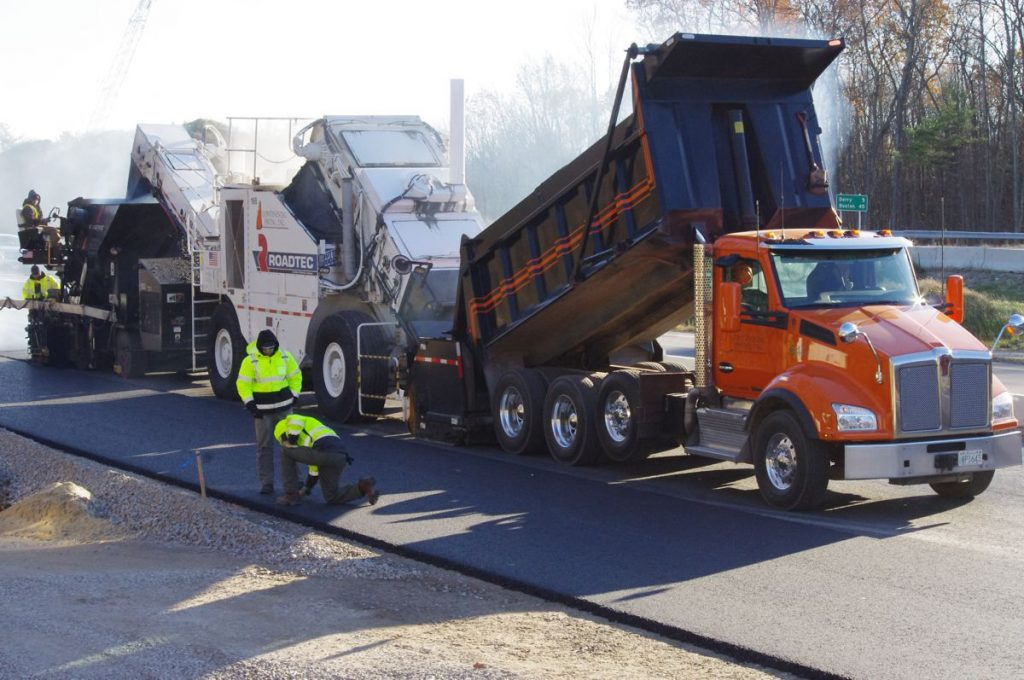 It's a smooth finish for huge multi-contract road project in New Hampshire.