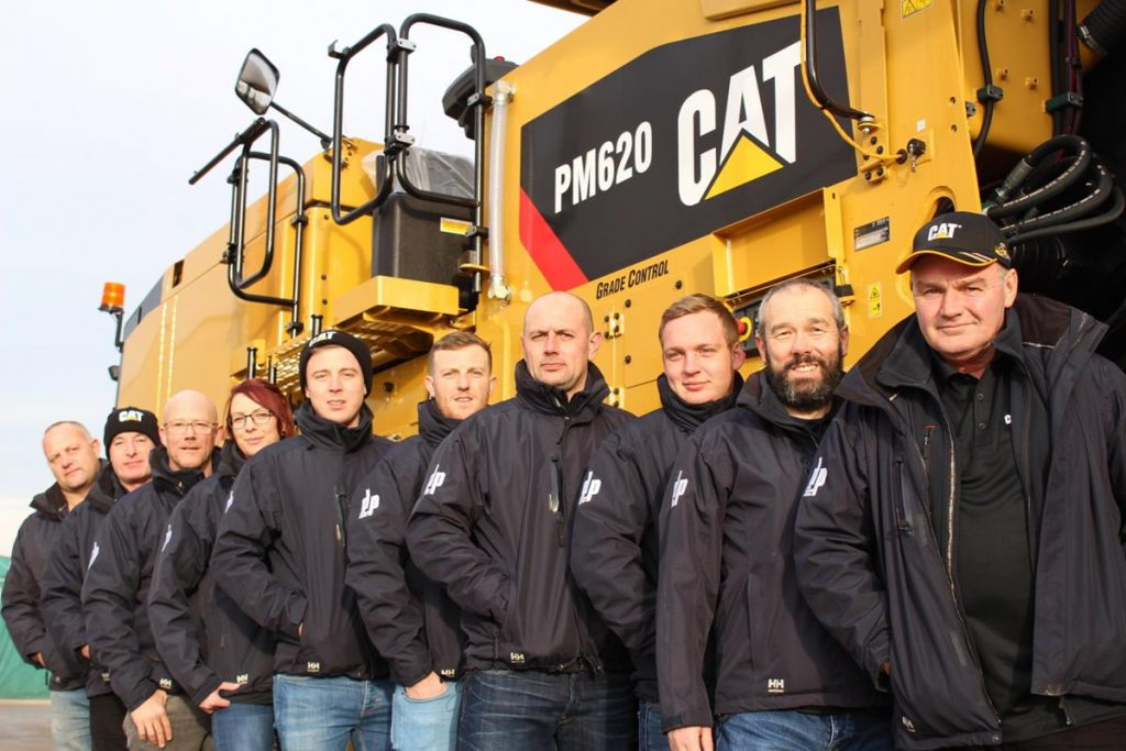 DP Cold Planing takes delivery of a fleet of Caterpillar Cold Planers