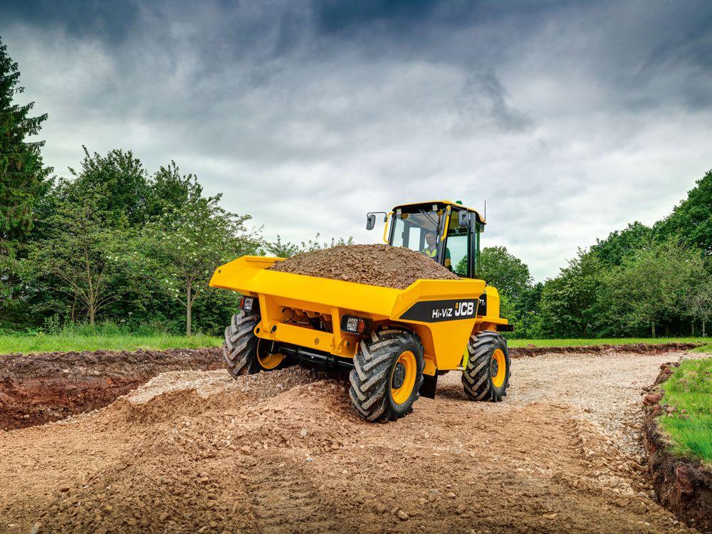 JCB starts production of new innovative dumper truck
