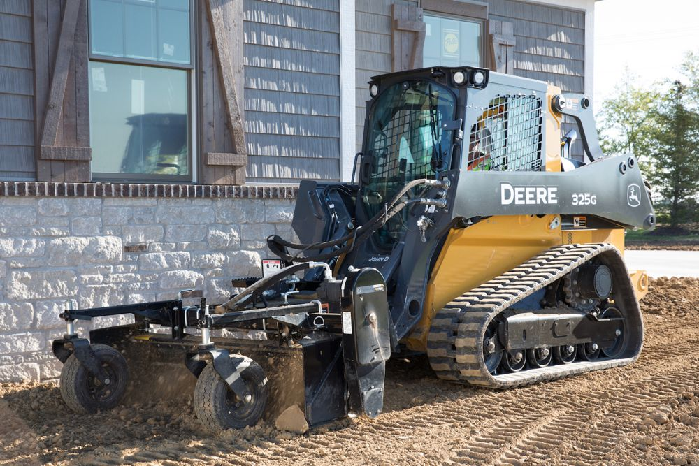 John Deere adds mid-frame G-Series Skid Steers and Compact Track Loaders
