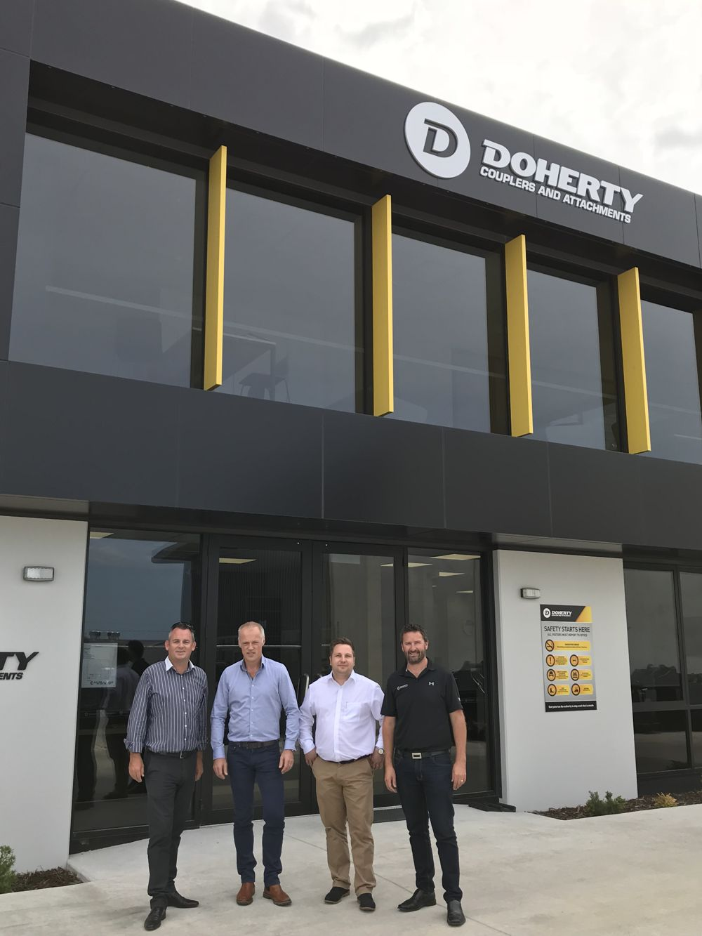 KINSHOFER Acquires Doherty Group in New Zealand
