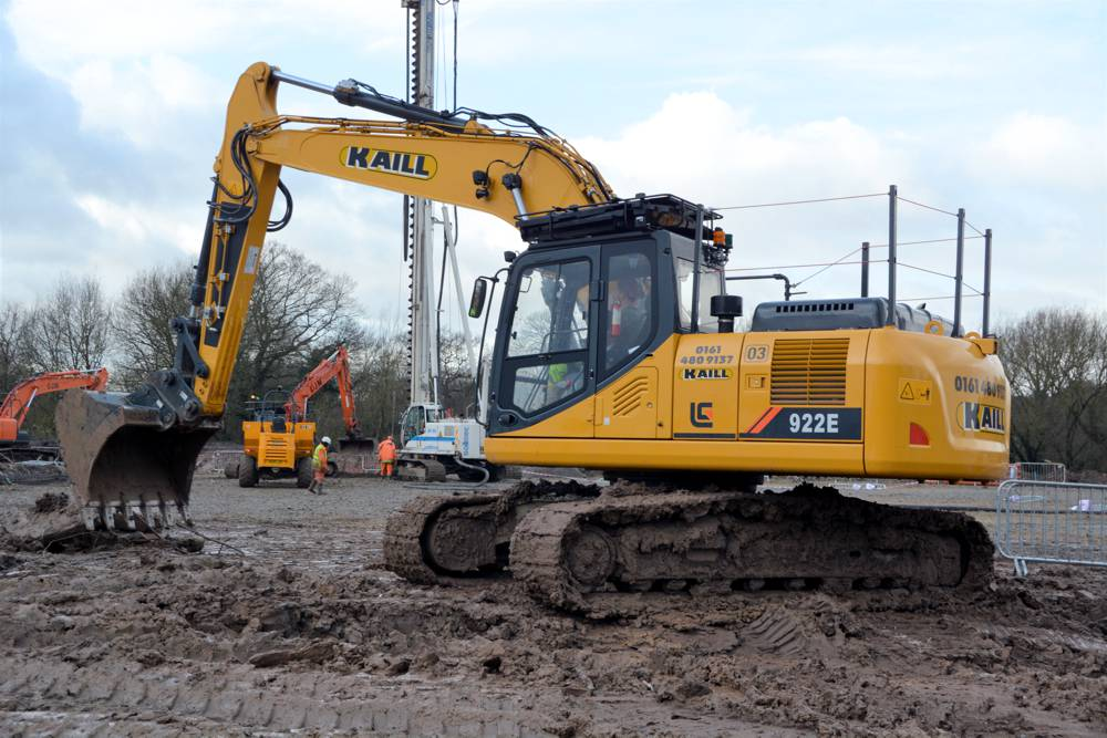 Liugong 922E at M.T. Kaill Plant Hire