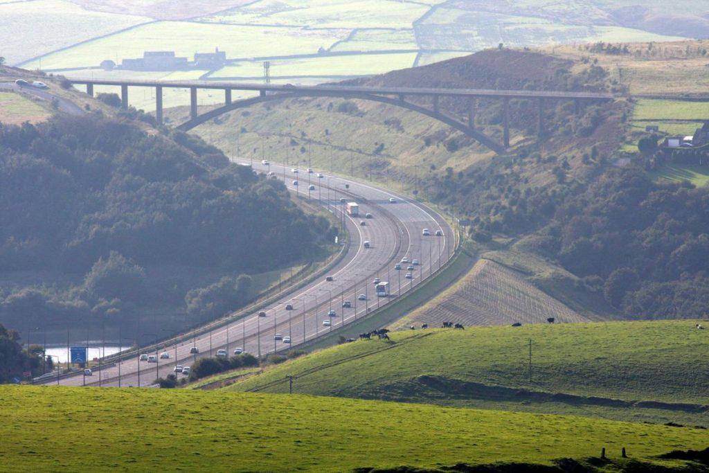 Motorway Bridge - Photo by Chris Price