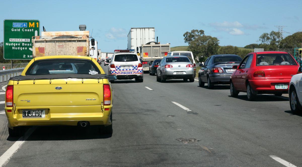 Works ramp up in Queensland on the M1 between Mudgeeraba and Varsity Lakes
