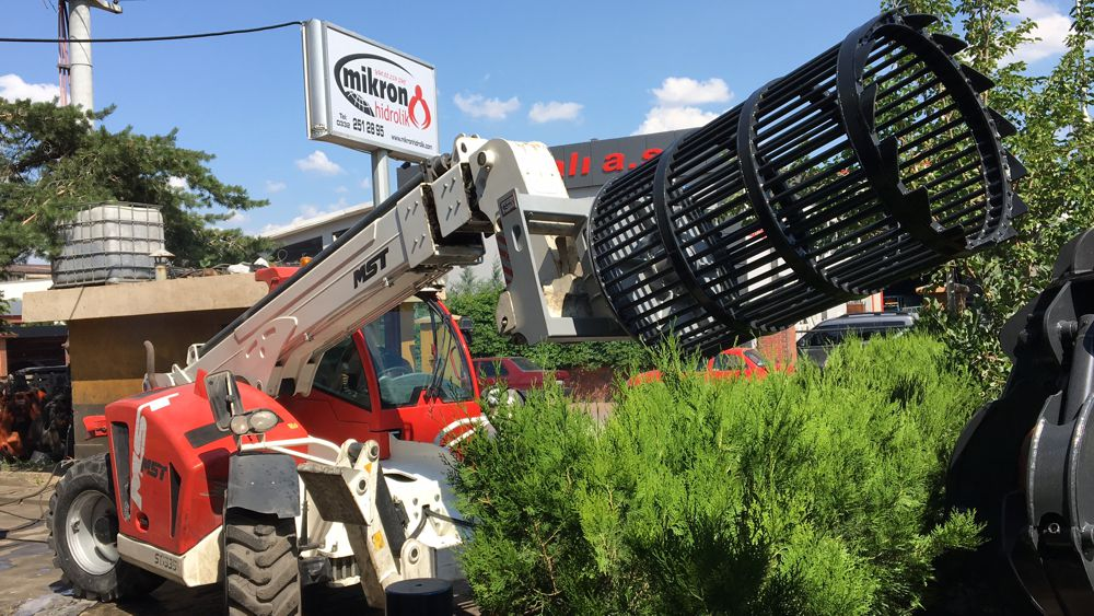 Mikron Hidrolik is a fast-growing Turkish company that manufactures mobile cranes and materials handling equipment.