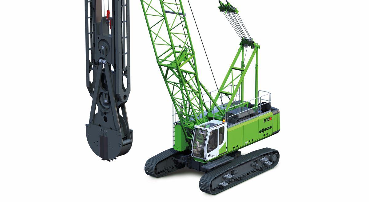 New SENNEBOGEN 70 tonne crane offers maximum versatility